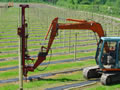 Agricultural fencing and landworks, including fruit farms and vineyards, from Curling Contractors covering Surrey, Hertfordshire and Berkshire